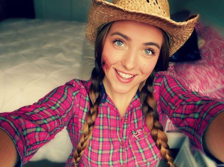 cowgirl gesicht schminken realistische schussverletzung