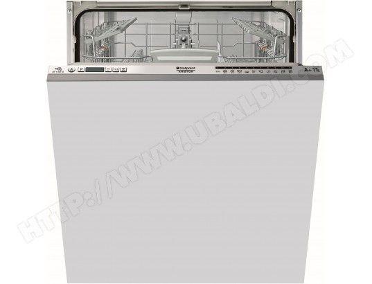 Lave vaisselle tout integrable 60 cm HOTPOINT ARISTON LTF11M116EU