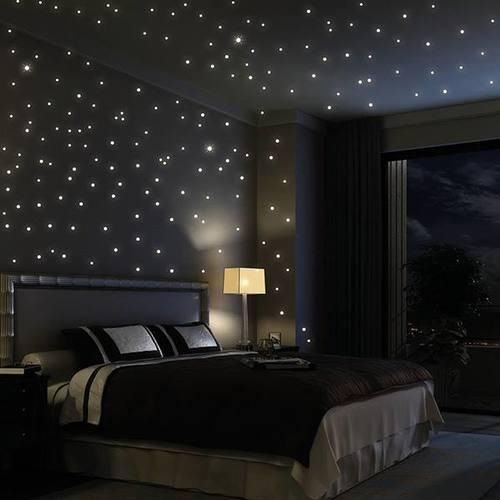 bedroom light star feature ceiling when i grow up