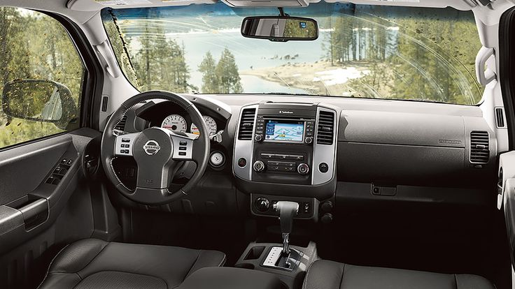 Nissan Xterra PRO-4X® shown in Gray Leather with optional equipment.