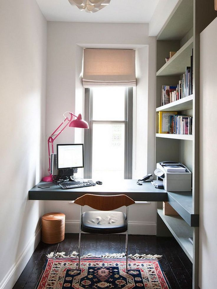 15 Ideas for Small Spaces Office Place Home Pinterest