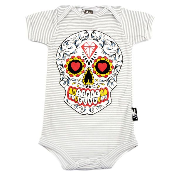 Sugarskull -Vauvan Body