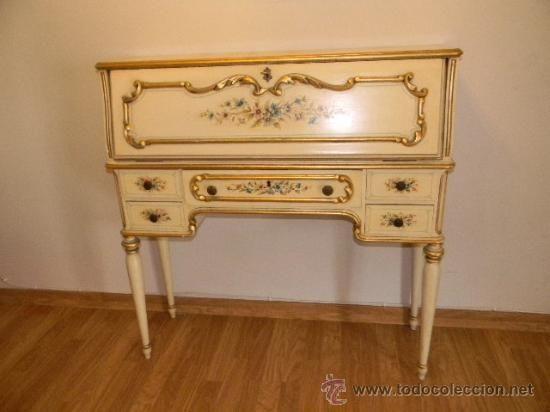 M s de 1000 ideas sobre escritorios pintados en pinterest - Muebles escritorios clasicos ...