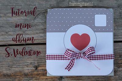 Tutorial mini album San Valentino #tutorial #youtube #minialbum #DIY #sanvalentino