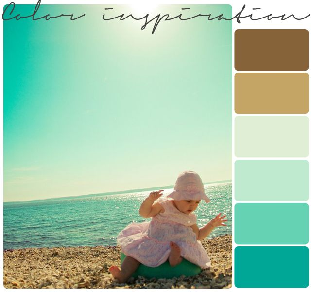 Color Inspiration // beaches-my living room when I'm near the water some day