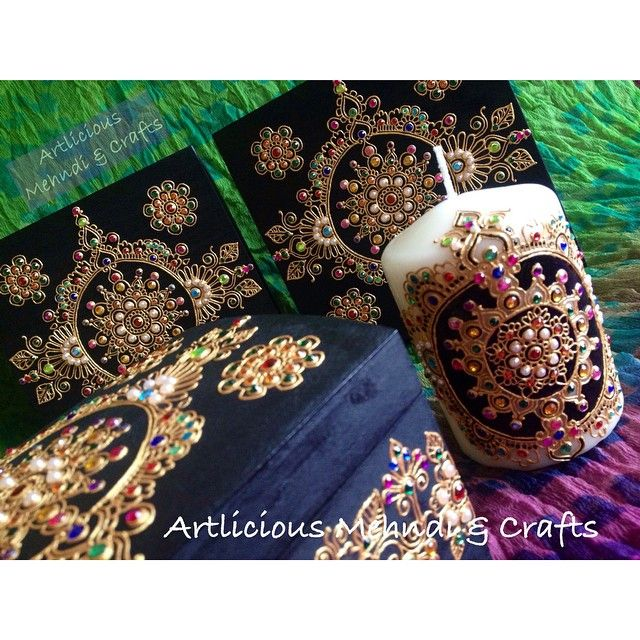 Mehndi Candles Instagram : Best henna things images on pinterest candles