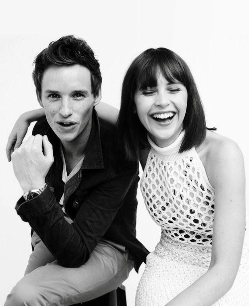 Felicity Jones & Eddie Redmayne - Toronto International Film Festival 2014 InStyle Portrait
