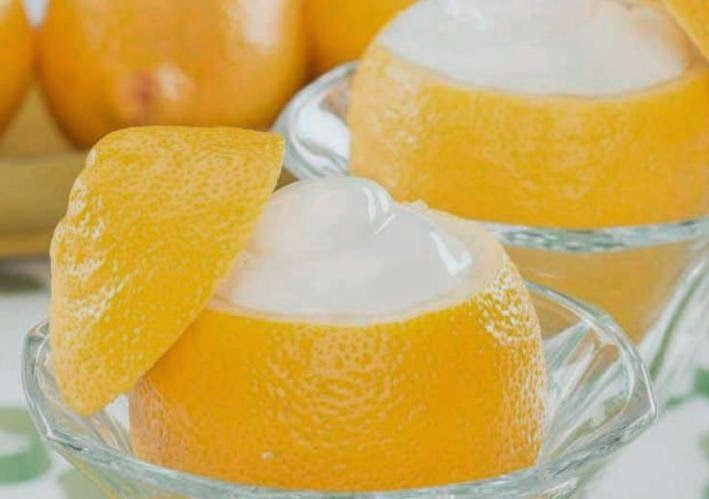 Crema helada de limòn