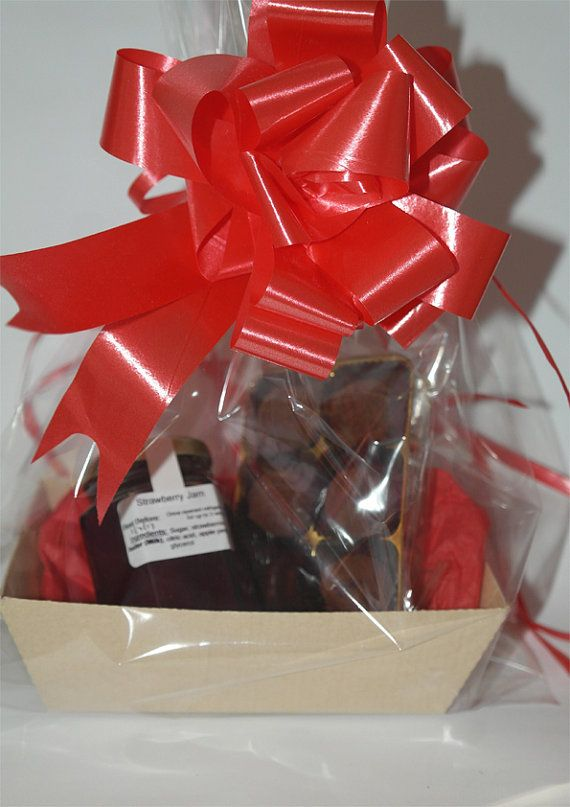 Jam & Salted Caramel Truffle Gift by SweetieLoveUK on Etsy