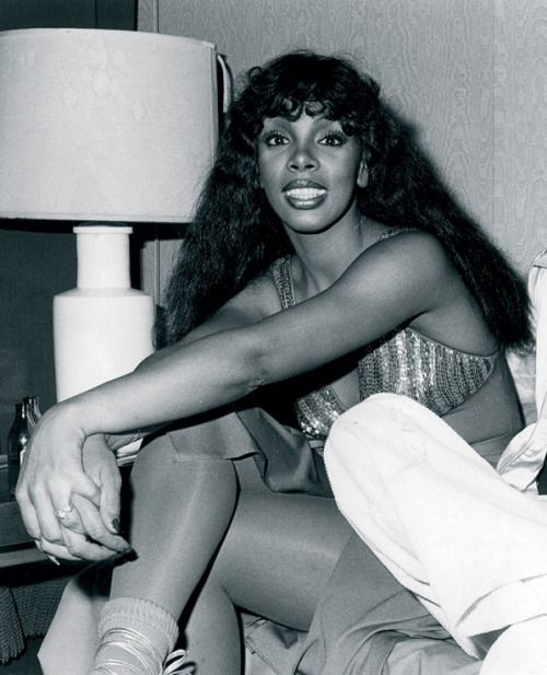 "LAST DANCE | DONNA SUMMER | THE 70′S Donna Summer with her long-time producer Giorgio Moroder, who also produced ""Last…"