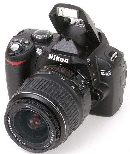 excellent Nikon D40 guided tour