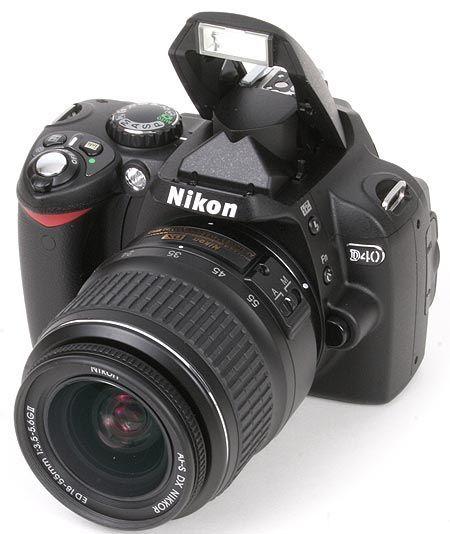 excellent Nikon D40 guided tour