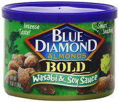 Image result for diamond wasabi almonds