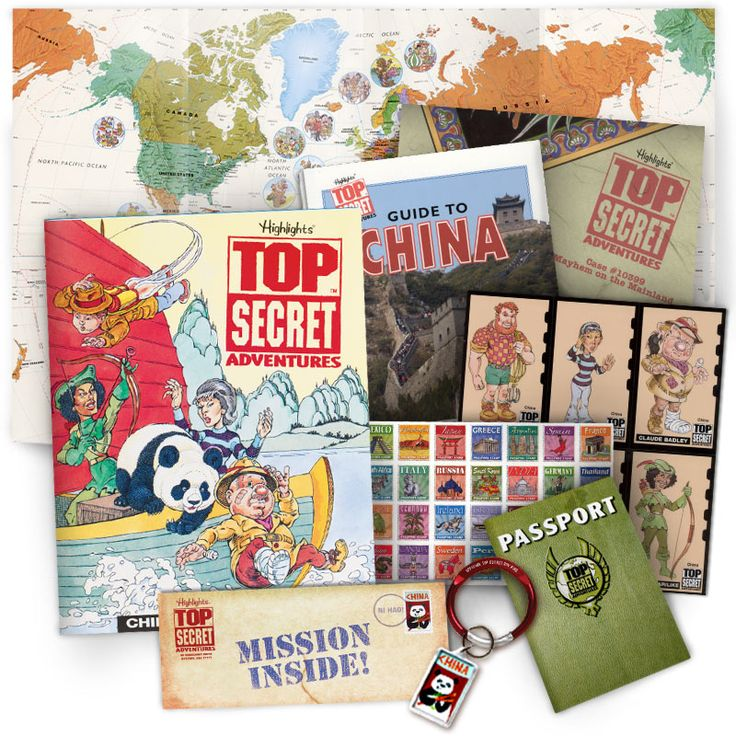 Top Secret Adventures™   World Geography Book Club for Kids