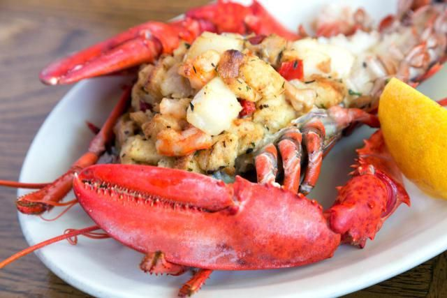 This Succulent Stuffed Lobster Couldn't Be Easier To Make: You don't have to be a gourmet chef to make stuffed lobster at home. Try this easy method for restaurant flavor with no fuss.
