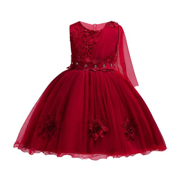 611882bd19949 2018 Girls Dress Kids Clothes Girls Party Dress Elegant Fashion ...