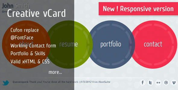 Circlus - Personal Portfolio HTML5 Theme - ThemeForest Item for Sale