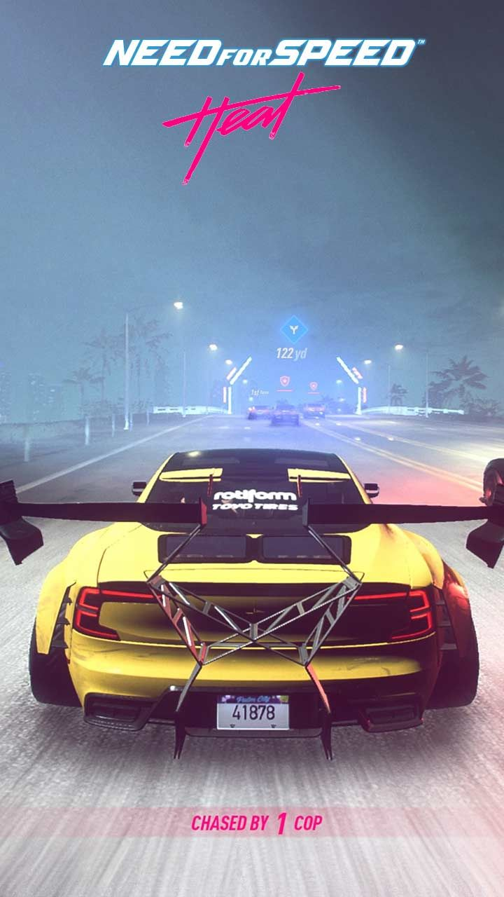 Need For Speed Heat Wallpaper Hd Phone Backgrounds Cars Poster Art On Iphone Android Lock Screen In 2020 Need For