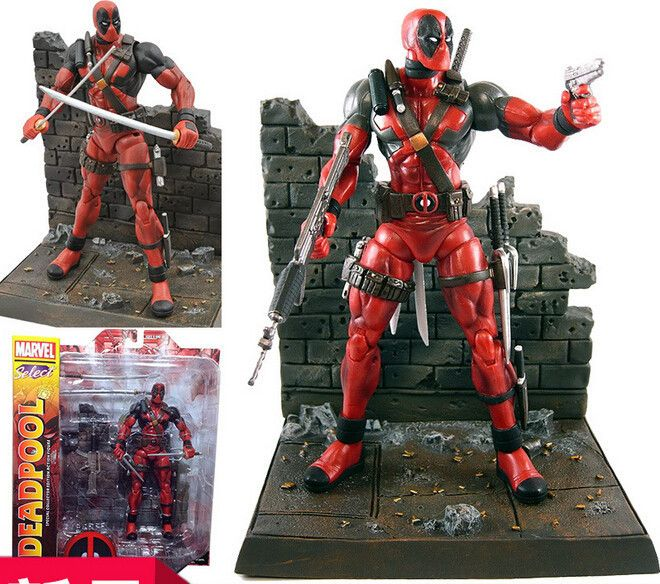 NEW Hot 23cm Super hero X-Men Deadpool action figure toys collection mobile toy doll Christmas gift