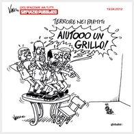 Aiuto un grillo by Vauro