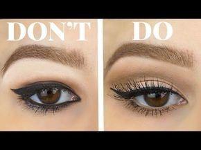 Winged Liner for Hooded Eyes Made Easy | MicaelaKBeauty - YouTube