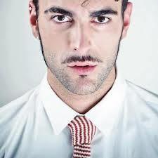 Marco Mengoni wear Camo Knit Tie http://goo.gl/vlV3WC