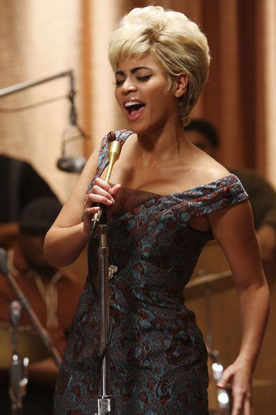 Two of my favourite artists in one. Beyonce as the great Etta James singing 'I'd rather go blind' at Cadillac records -Dream girls-