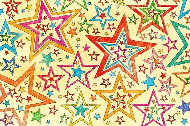 Estrelas, idade, estilo, fundo, textura, plano de …