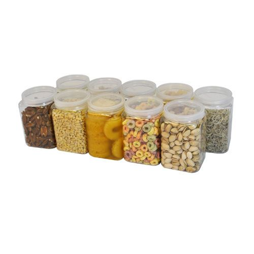 [ Silicook ] A set of 10 Fridge Food storage containers - Square D set