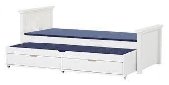 Deluxe säng med utdragbar säng och sänglådor 90x200 cm - Barnmöbler barnsäng 101802 Shop - Eurotoys - Barnmöbler online