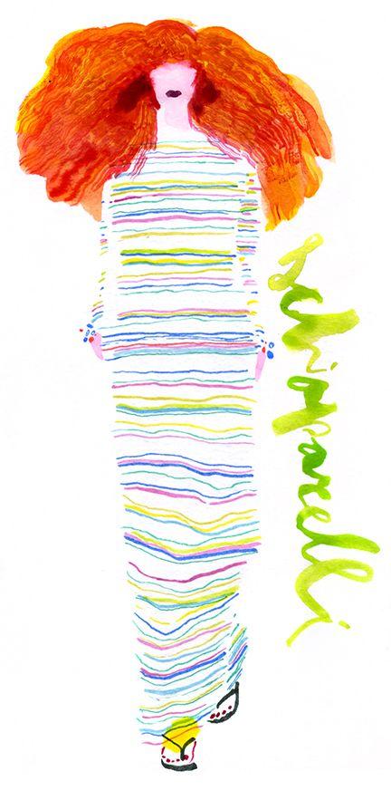 Schiaparelli Spring 2014 by Lauren Tamaki.