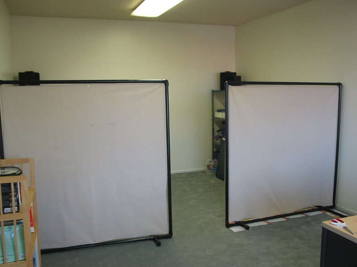 Great idea for our basement...walls without wood, sheet rock, $$$