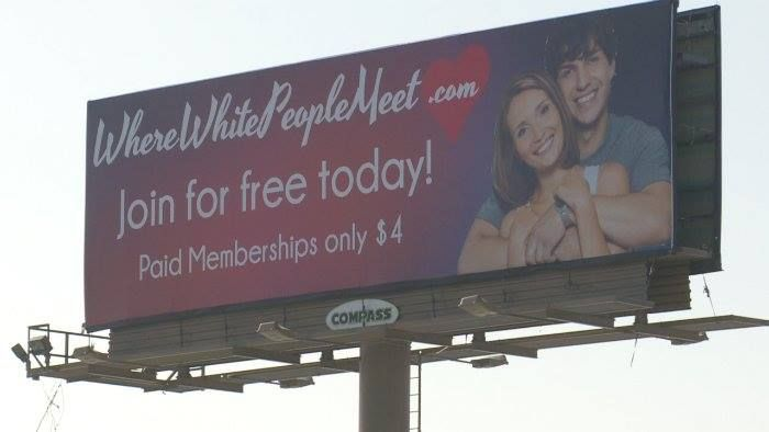 """Where White People Meet"" Website Causing Racist Accusations While Highlighting Double-Standard ~ Such a difference in reactions when the race is white, than for minorities... so hypocritical."