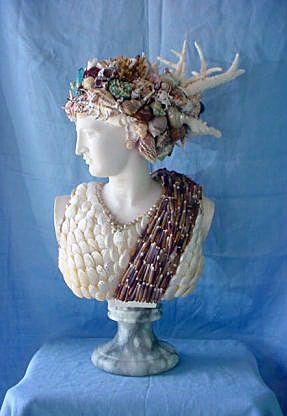 Seashell Artwork   Christa's South Seashells: Sculpture