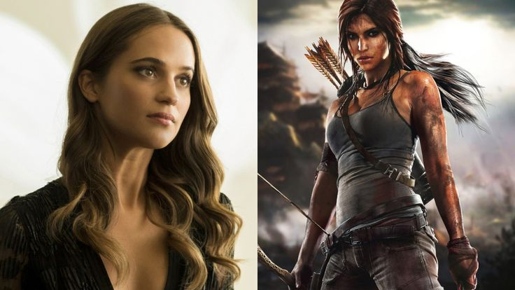 M.A.A.C.   –  ALICIA VIKANDER Cast As 'Lara Croft' In TOMB RAIDER Reboot. UPDATE: DANIEL WU Joins Cast