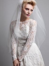 Piculet Veil - classic sweeping white tulle | Dee Dee Bridal handmade vintage inspired bridal veils, headdresses & accesssories Xx
