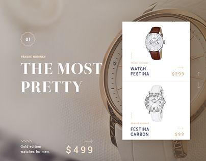 """다음 @Behance 프로젝트 확인: """"Luxury e-commerce"""" https://www.behance.net/gallery/29276117/Luxury-e-commerce"""
