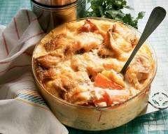Gratin de patates douces au reblochon : http://www.cuisineaz.com/recettes/gratin-de-patates-douces-au-reblochon-5790.aspx