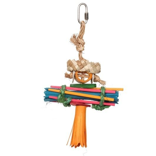 Rustic Treasures Rasta Man   Small #parrot Toy - be your #parrots best friend!