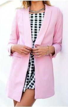 Windsor Coat Pink