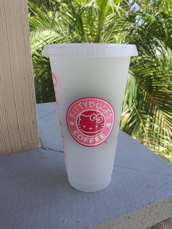 Hello Kitty /& Starbucks Inspired Tumbler