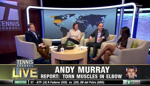 Andy Murray likely to miss Davis Cup by BNP Paribas with torn muscles in his elbow.   The Tennis Channel Live crew discusses: