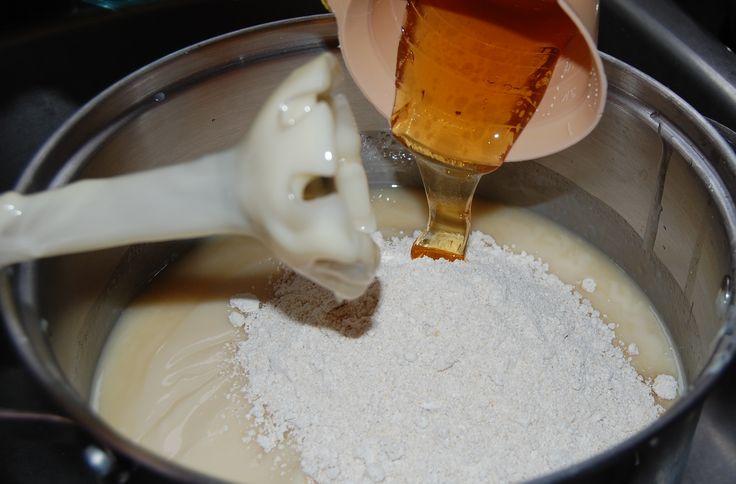 Honey & Oatmeal Soap Recipe http://pinterest.com/nfordzho/soaps/