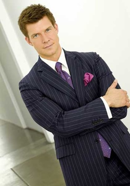 Eric Mabius (Daniel Meade) from Ugly Betty.Also,played Matt Addison in Resident Evil.
