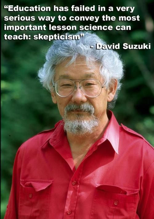 "Suzuki: Great Canadian Scientist and Television Commentator for the Canadian Television Production ""The Nature of Things"""