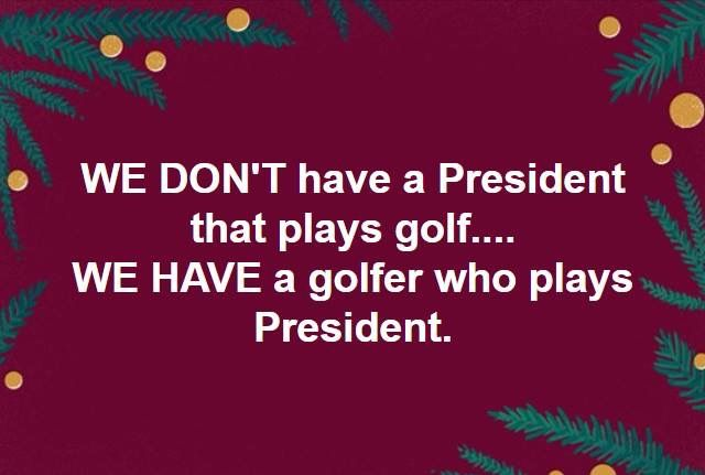 And Trump doesn't even play president well. He's about as convincing in that role as he was in Home Alone 2. Worst TV president ever.