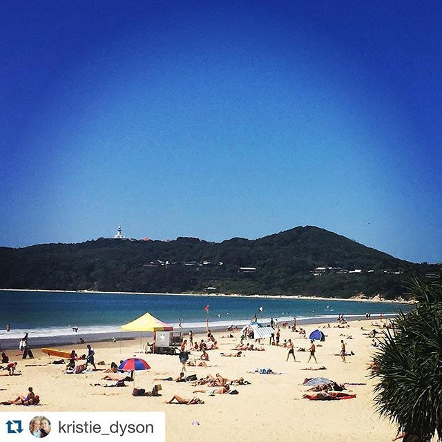 Nice day Byron Bay... Repost @kristie_dyson ・・・ Beautiful day in Byron!  #byronbay #visitbyron
