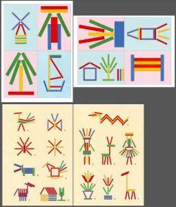 Ideas de figuras para hacer con palitos de colores