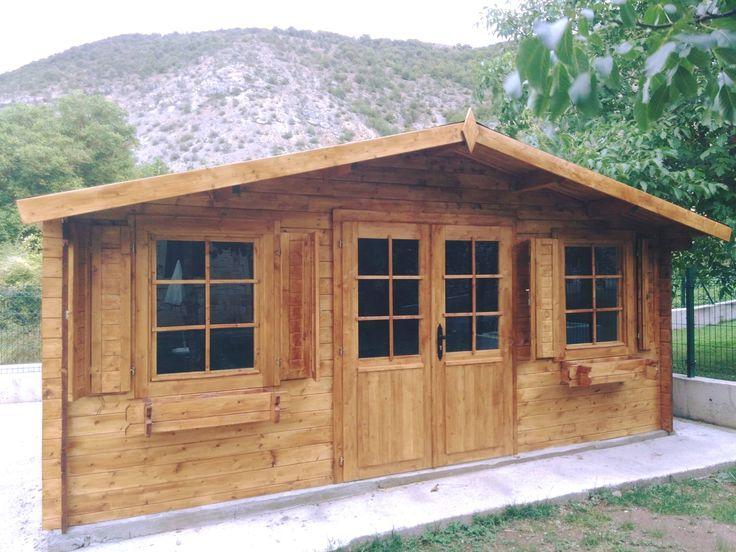 caseta de jardin palmako modelo de m perfecto para habitacin extra en el jardin