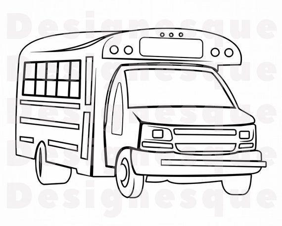School Bus Outline 3 Svg School Bus Svg School Bus Clipart Etsy In 2021 School Bus School Bus Clipart Preschool Songs